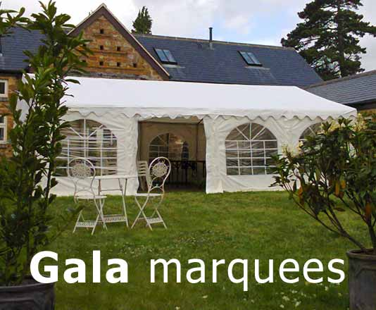 gala marquees make excellent party marquees