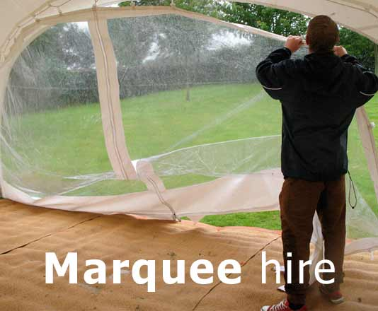 Northamptonshire marquees hire services