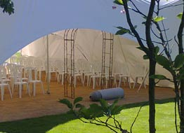 versatile capri marquees can be used without sides